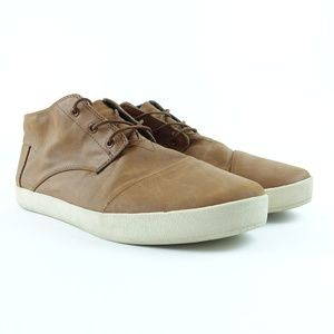 0137c936ffa TOMS Men Paseo Synthetic Leather Mid Sneaker R11S3